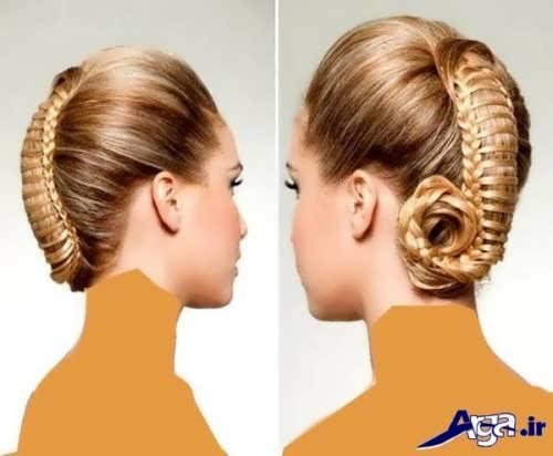 مدل موی جمع زیبا و ایده آل