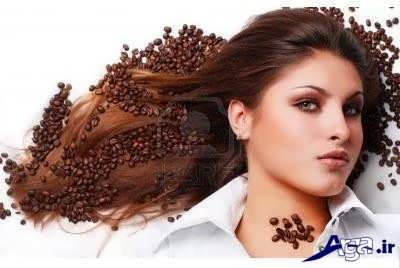 رنگ موی قهوه ای طبیعی