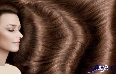رنگ موهای قهوه ای