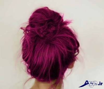 رنگ موی شرابی گیاهی