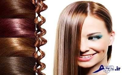انواع رنگ موهای گیاهی