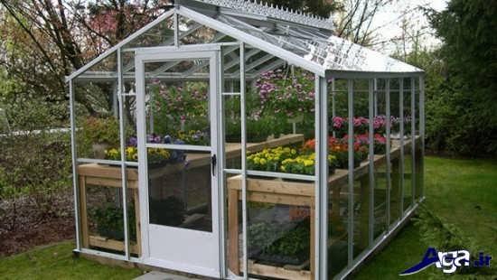 ساخت گلخانه شیشه ای
