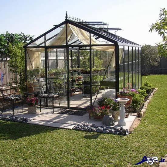ساخت آسان گلخانه