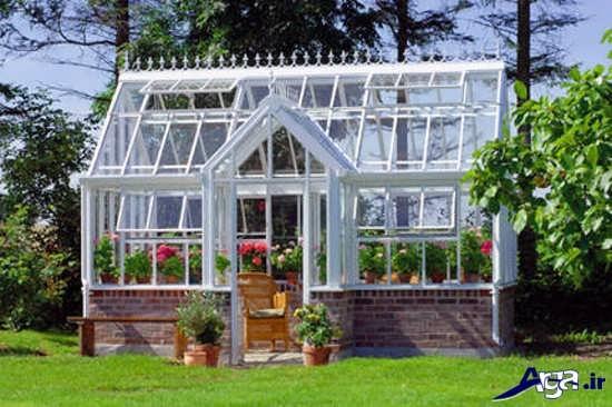 گلخانه شیک و مدرن خانگی
