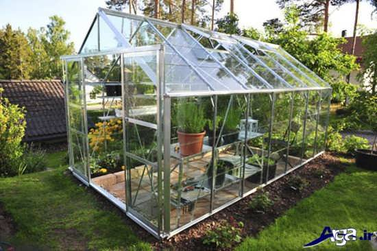 مدل گلخانه شیشه ای جدید