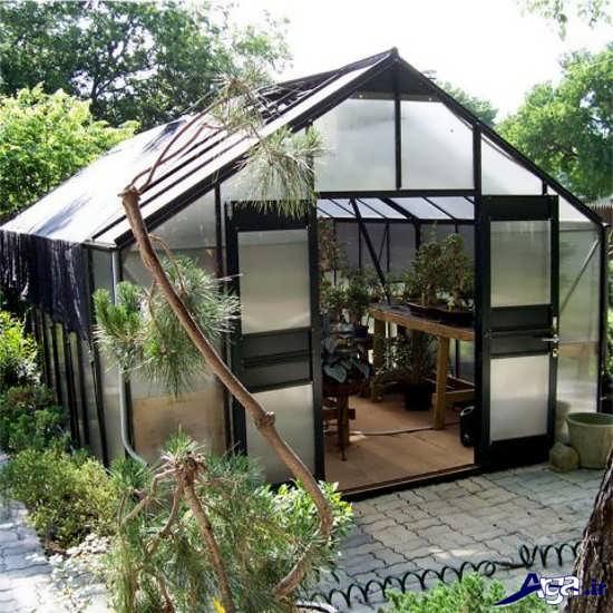 گلخانه های مدرن فلزی
