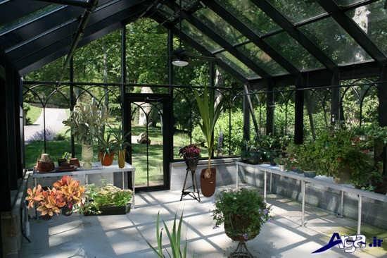 گلخانه های خانگی شیک و مدرن