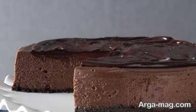 دستور تهیه چیز کیک شکلاتی