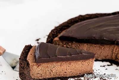 نحوه تهیه چیز کیک شکلاتی