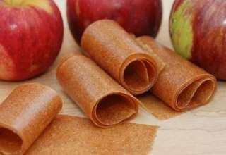 طرز تهیه لواشک سیب خوشمزه