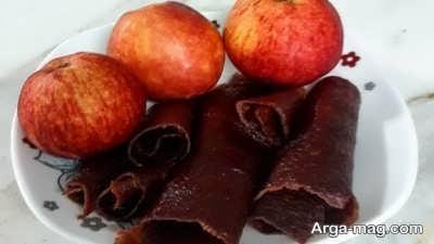 دستور تهیه لواشک سیب و انار