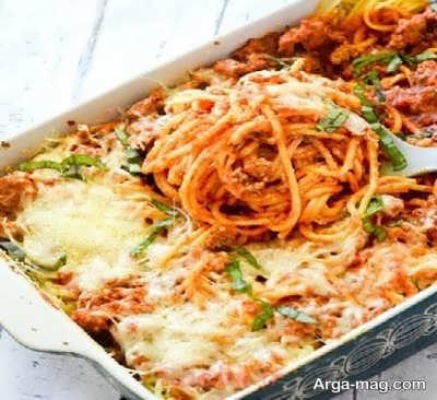 نحوه تهیه اسپاگتی با گوشت
