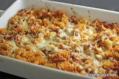 مراحل تهیه اسپاگتی با گوشت