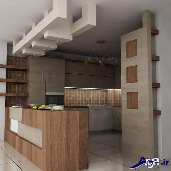 کابینت آشپزخانه ایرانی با طراحی بی نظیر