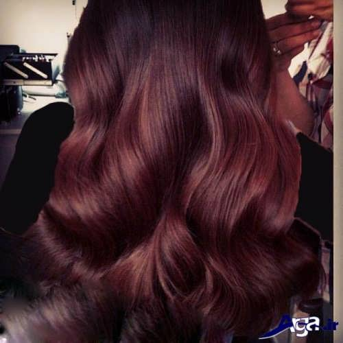 فرمول های ترکیبی رنگ موی زیبا ماهگونی