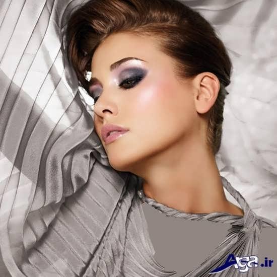جدیدترین مدل آرایش صورت اروپایی