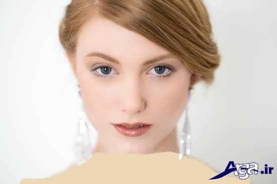 مدل آرایش اروپایی عروس جدید