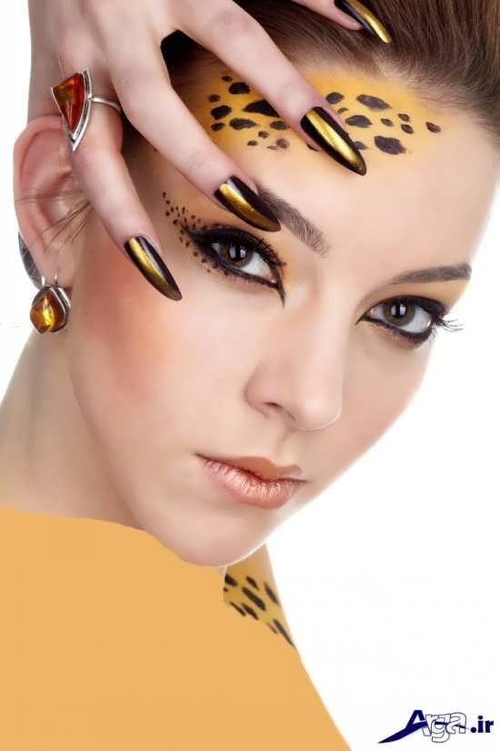 انواع مدل های زیبا آرایش با سبک اروپایی