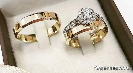 ست حلقه عروسی جدید