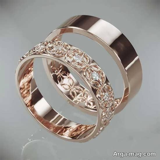 ست حلقه عروسی زیبا