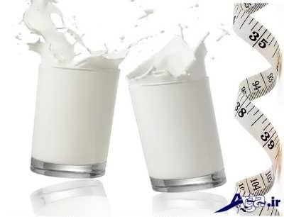رژیم غذایی شیر راهی موثر برای کاهش وزن