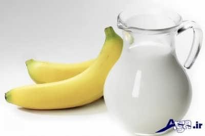 فواید رژیم موز و شیر برای بدن