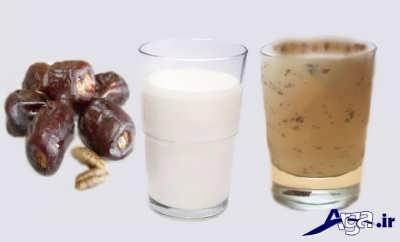رژیم شگفت انگیز شیر و خرما