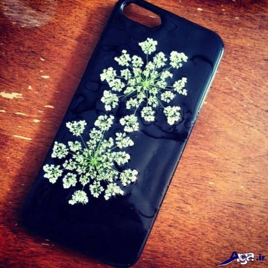 تزیین زیبای قاب گوشی موبایل لمسی
