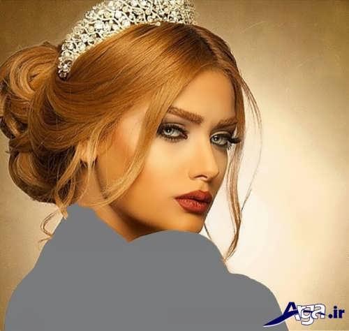 مدل موی زیبا برای عروس