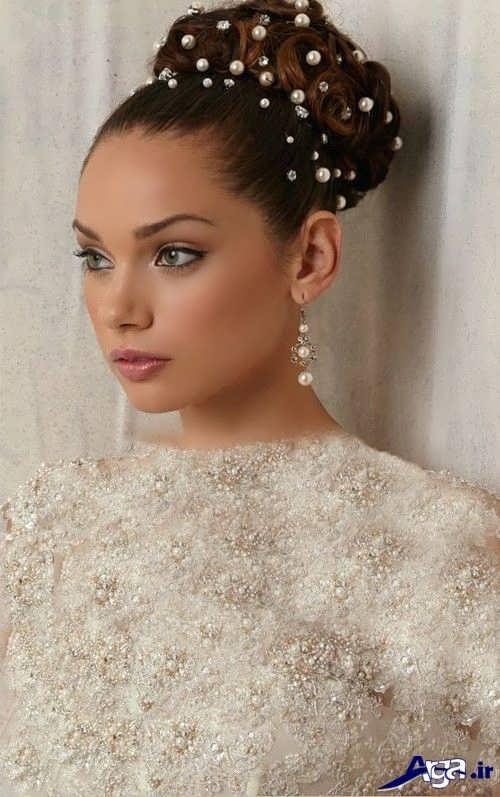 مدل موی بسته زیبا برای عروس