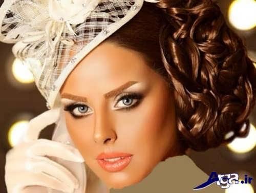 مدل میکاپ زیبا عروس