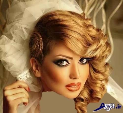 مدل های متنوع آرایش عروس