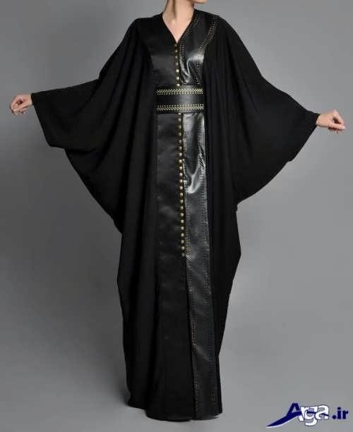مدل مانتو عبایی با طرح سال