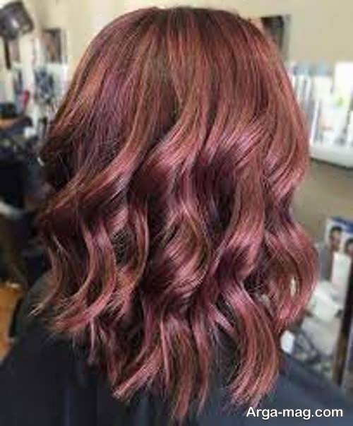 شیک ترین رنگ مو