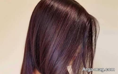 انواع رنگ مو ماهگونی
