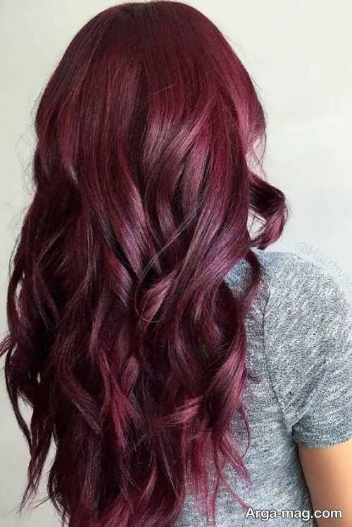 انواع رنگ مو ماهگونی با فرمول های ترکیبی