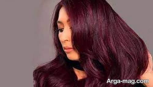 رنگ موی ماهگونی شیک
