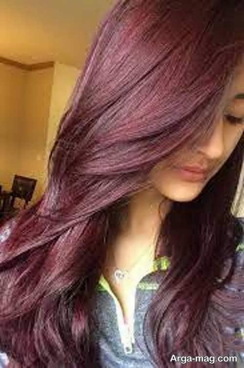 جدیدترین رنگ موی ماهگونی