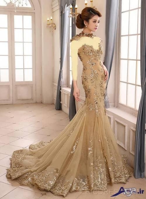 لباس نامزدی دنباله دار