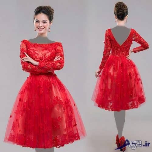 لباس نامزدی زیبا و کوتاه
