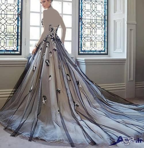مدل لباس نامزدی جدید دنباله دار