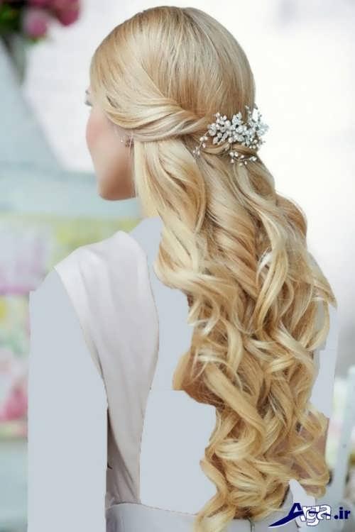 مدل موی باز و زیبا برای عروس