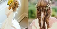 مدل موی باز عروس جدید