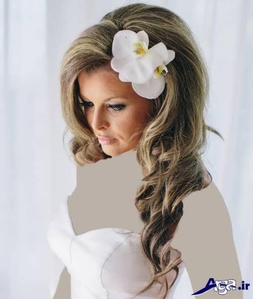مدل موی زیبا باز عروس