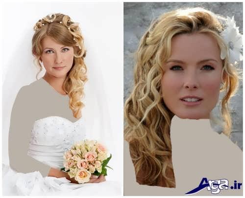 مدل موی فر برای عروس