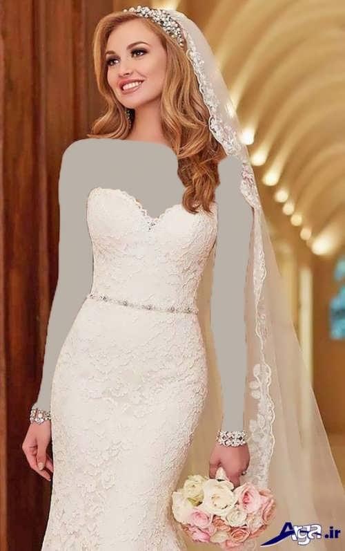 جدیدترین مدل موهای باز برای عروس