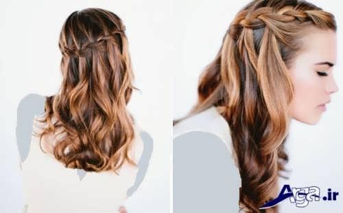 مدل موی زیبا و جذاب باز برای عروس