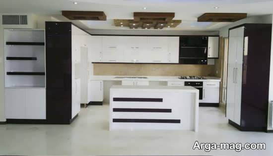 مدلی از اُپن آشپزخانه