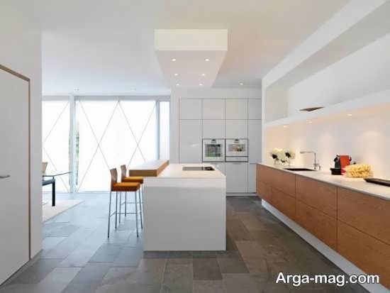 مدل اپن آشپزخانه زیبا