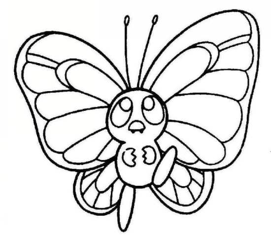 نقاشی پروانه